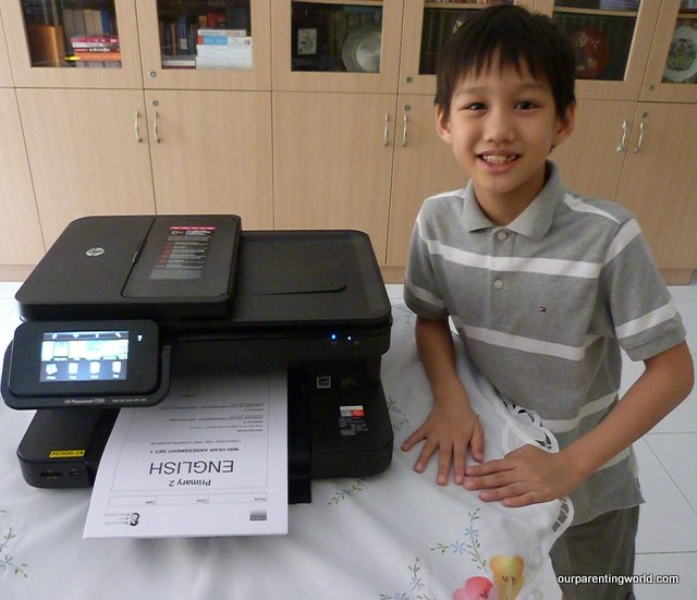 Introducing HP Photosmart 7520 e-All-in-One Printer and HP Education Apps, Our Parenting World