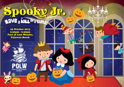Sentosa Spooky Jr.'s Magical Ball, Our Parenting World