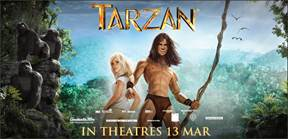 {Giveaway Alert} 5 sets of Tarzan movie premiums on Our Parenting World Facebook, Our Parenting World