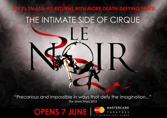 Le Noir – The Thrilling Cirque Style Smash Hit!, Our Parenting World