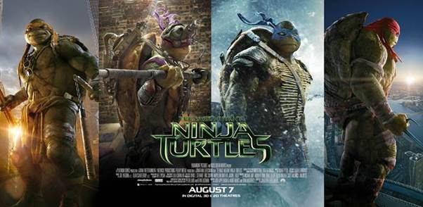 Our Favourite Turtles, Teenage Mutant Ninja Turtles, the movie is now showing at cinemas!, Our Parenting World