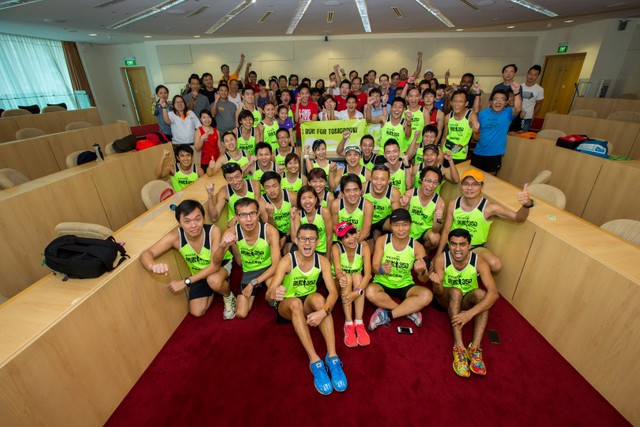 NTUC Income RUN 350, Organised by Young NTUC 1st Running Clinic, Our Parenting World