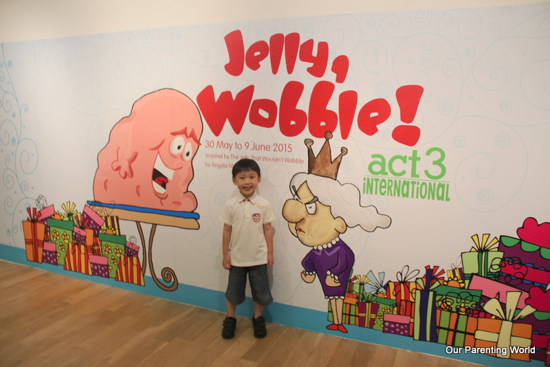 Fun-filled All-In-One Arts workshop, Jelly Wobble! by Act 3 Internationaland Giveaway!, Our Parenting World