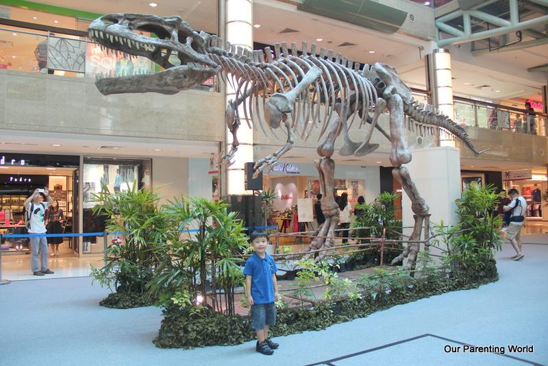 Plaza Singapura Unveils Largest Dinosaur Exhibit, Our Parenting World