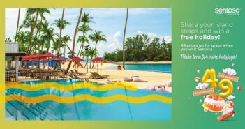 Sentosa Celebrates 49th Birthday with the launch of New Programmes and Deals for Guests to Make Time for More Holidays!, Our Parenting World
